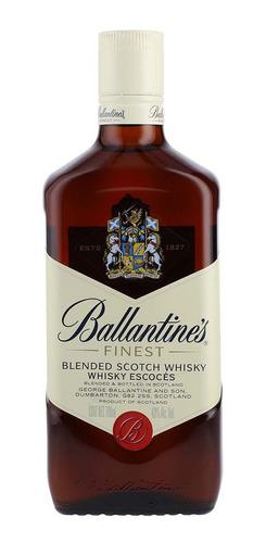 Imagen 1 de 1 de Botella De Whisky Ballantines Finest 700ml