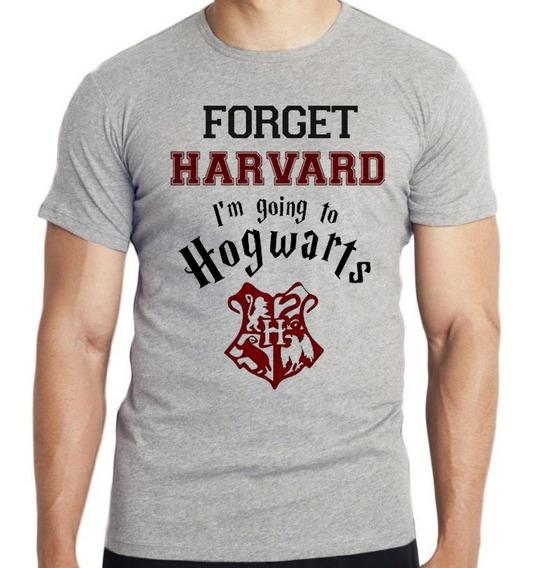 Camiseta Infantil Harry Potter Hogwarsts Harvard Forget