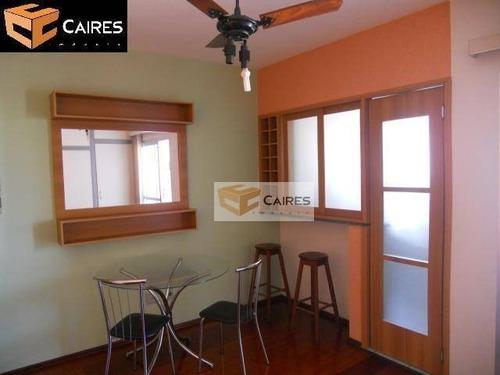Imagem 1 de 9 de Apartamento Com 1 Dormitório À Venda, 40 M² Por R$ 215.000,00 - Botafogo - Campinas/sp - Ap2685