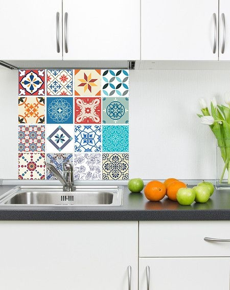 30 Vinilos Decorativos P/azulejos- Calcos Autoadhesivos 20cm