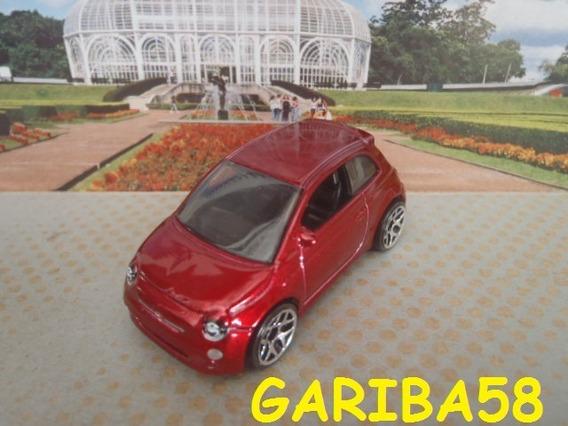 R$18 Lote Hot Wheels Fiat 500 Cinquecento 2014 Red Gariba58
