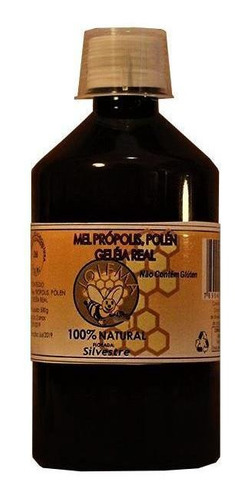 Geleia Real Composta Mel+própolis+pólen+geleia Real  500ml