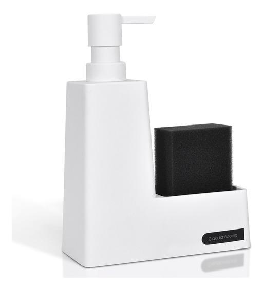 Dispenser Detergente Cocina Porta Esponja Contenedor Jabon