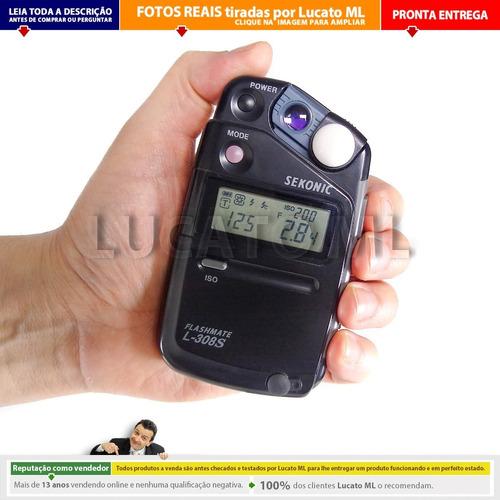 Fotômetro Sekonic L308s Flashmate Usado Ótimo Com Caixa | 2a