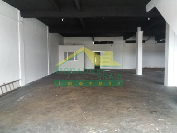 Galpão No Boqueirão Com 285 M². Confira Na Imobiliária Em Praia Grande. - Mp10380