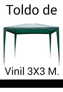 Toldo De Vinil Impermeable De 3x3 Mts