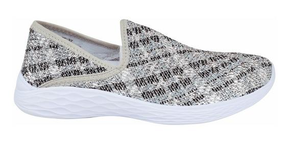Zapatillas Miranda Mujer Elastizada Textil Lady Stork (3032)
