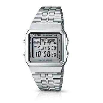 Relógio Casio Vintage Unissex Série Prata A500wa-7df + Frete