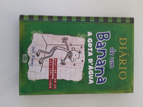 Livro Diário De Um Banana A Gota D