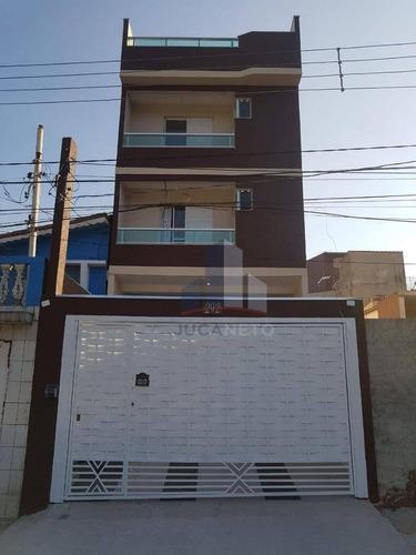 Cobertura Com 2 Dormitórios À Venda, 100 M² Por R$ 287.000 - Jardim Ana Maria - Santo André/sp - Co0098