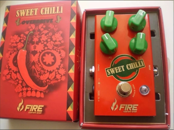 Pedal Fire Overdrive Sweet Chilli