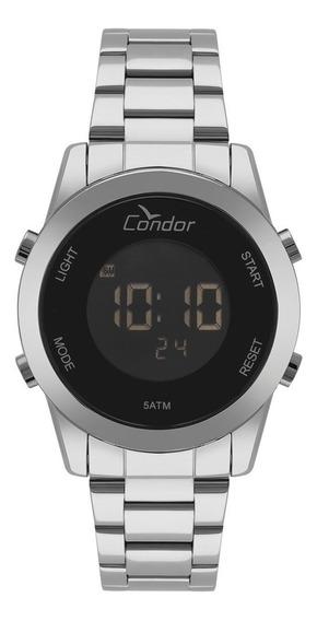 Relógio Condor Feminino Digital Prata Cobj3279ab/3p