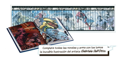 Imagen 1 de 10 de Colección Novelas Gráficas Marvel El Tiempo (27 Tomos)