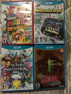 Vendo Juegos Wii U Los 4