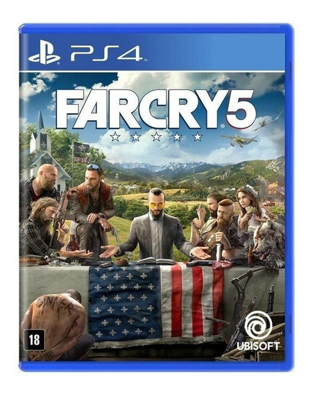 Far Cry 5 | Ps4 2 | Pt Br | Envio Agora