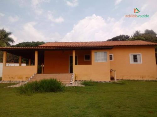Imagem 1 de 30 de Chácara Com 3 Dormitórios À Venda, 1000 M² Por R$ 580.000,00 - Monte Bianco - Araçoiaba Da Serra/sp - Ch0118
