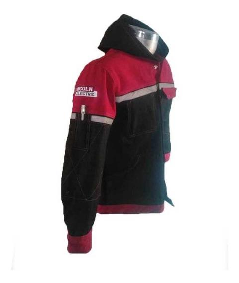Camisa Roja Con Capucha Y Bolsas Frontales Para Sold Paile