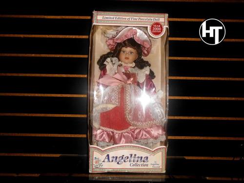 Muñeca De Porcelana, Angelina Visconti, Original 16 Pulgadas