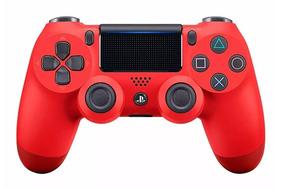 Joystick Gamepad Sony Ps4 Dualshock 4 V2 Original Rojo Magma