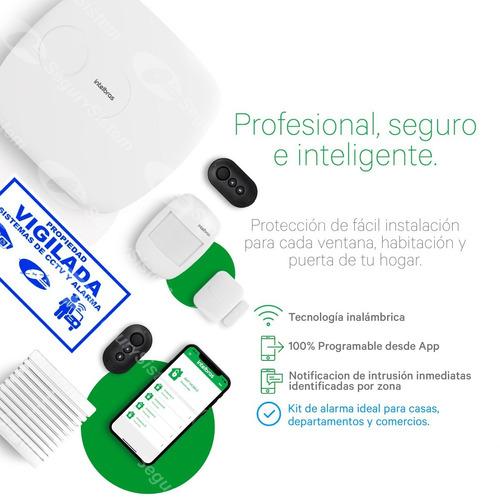 Kit Alarma Intelbras Domiciliaria Inalámbrica App Celular