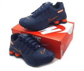 Tenis Nike Shox Nz 4 Molas Academia Corrida Frete Gratis*