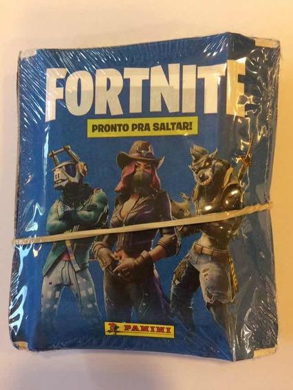 100 Figurinhas Fortnite - Pacote Lacrado, Lançamento!