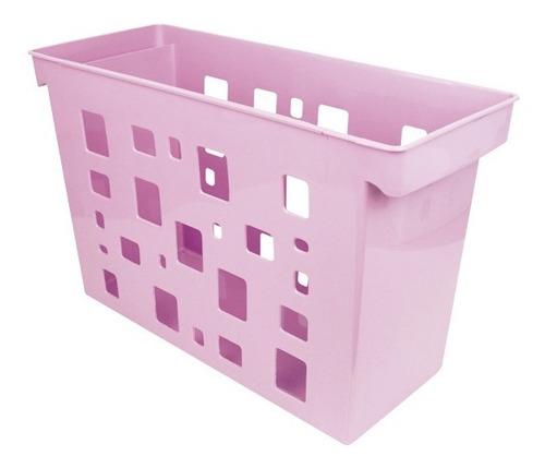 Caixa Arquivo Dellocolor Rosa