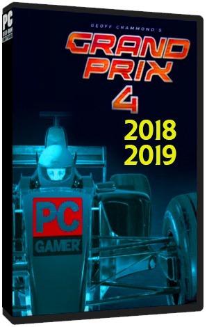 Grand Prix 4 Temporada 2018 - 2019 Pc Dvd - Frete 8 Reais