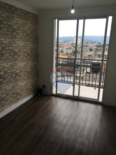 Imagem 1 de 26 de Apartamento Com 2 Dormitórios À Venda, 50 M² Por R$ 345.000,00 - Jardim Brasil - São Paulo/sp - Ap0086