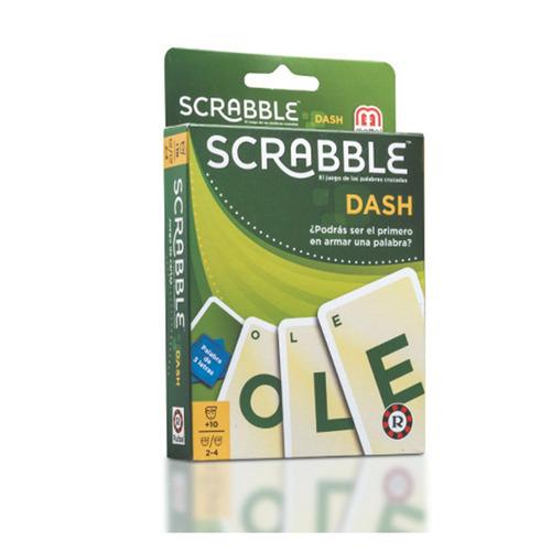 Imagen 1 de 4 de Scrabble Dash Cartas El Juego De Las Palabras Cruzadas