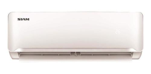 Imagen 1 de 1 de Aire acondicionado Siam split frío/calor 2881 frigorías blanco 220V SMS32HA3AN