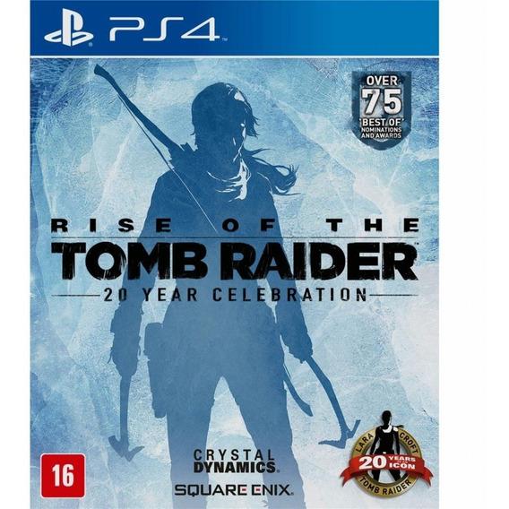 Rise Of The Tomb Raider Comemoração De 20 Anos Ps4