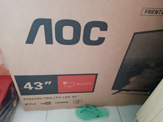 Smart Tv Aoc 43 Polegadas Para Aproveitar As Peças