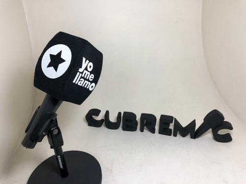 Imagen 1 de 2 de 3 Capuchones Antipop Para Microfonos Personalizados Con Logo