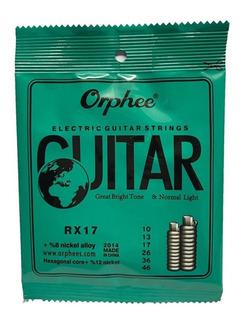 Pak Cuerdas Guitarra Electrica Orphee 10-46 T/ Ernie Ball