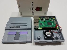 Cases Snes Raspberry Pi Com Local Para Cooler Overclock.