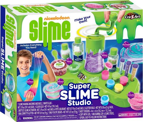 Fabrica De Slime Nickelodeon