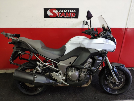 Kawasaki Versys 1000 Abs Tracer 2013 Branca Branco