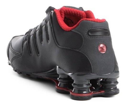 Tênis Nike Shox Nz Se - Preto E Vermelho Tam Do 35 Ao 42