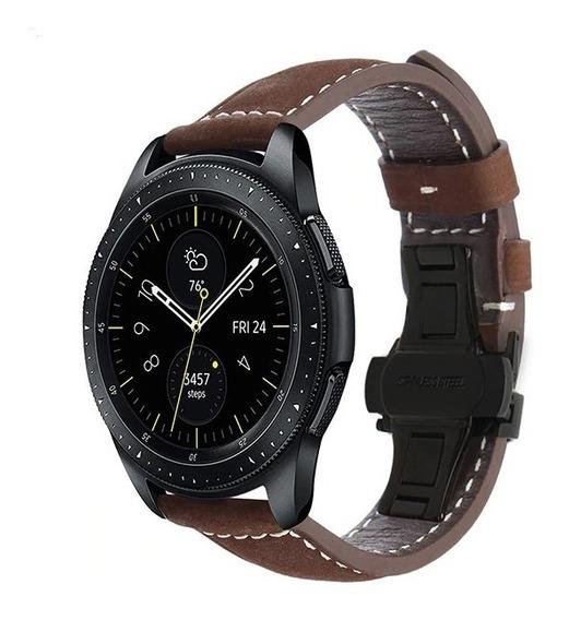 Pulseira De Couro Galaxy Watch 42mm Sm-r810