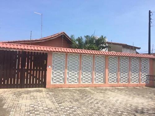 Casa No Litoral Com 3 Dormitórios Em Mongaguá/sp 6448-pc