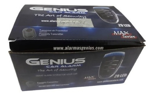 Alarma Antiescanner Marca Genius G24se