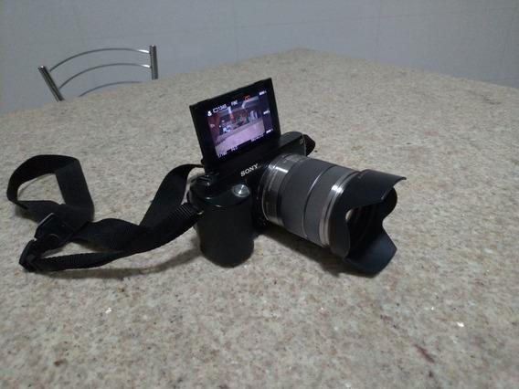 Câmera Semi-profissional Sony Nex F3. Usada Poucas Vezes.