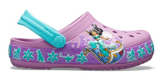 Zapato Crocs Niña Princesa Jasmine Aladino