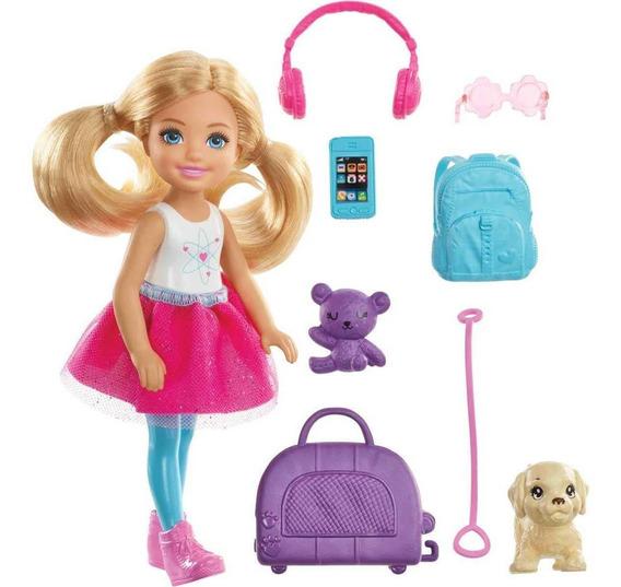 Boneca Chelsea Explorar E Descobrir Barbie - Mattel Fwv20