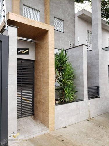 Cobertura Com 2 Dormitórios À Venda, 86 M² Por R$ 400.000,00 - Vila Floresta - Santo André/sp - Co1011