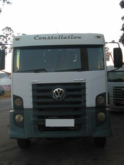 Vw Constallation 31.320 6x4 Ano 2008, Traçado, Reduzido