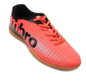 Tênis De Futsal Umbro Innverse - Masculino Coral - Original