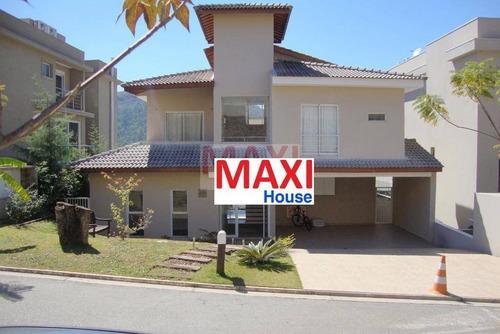 Casa Com 4 Suítes À Venda, 401 M² Por R$ 2.500.000  Alameda Malbec - Alphaville Residencial Vila Solaia - Barueri/sp - Ca0050