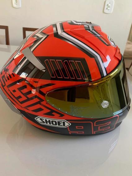 Capacete Shoei X14 Esportivo Marquez Rpc